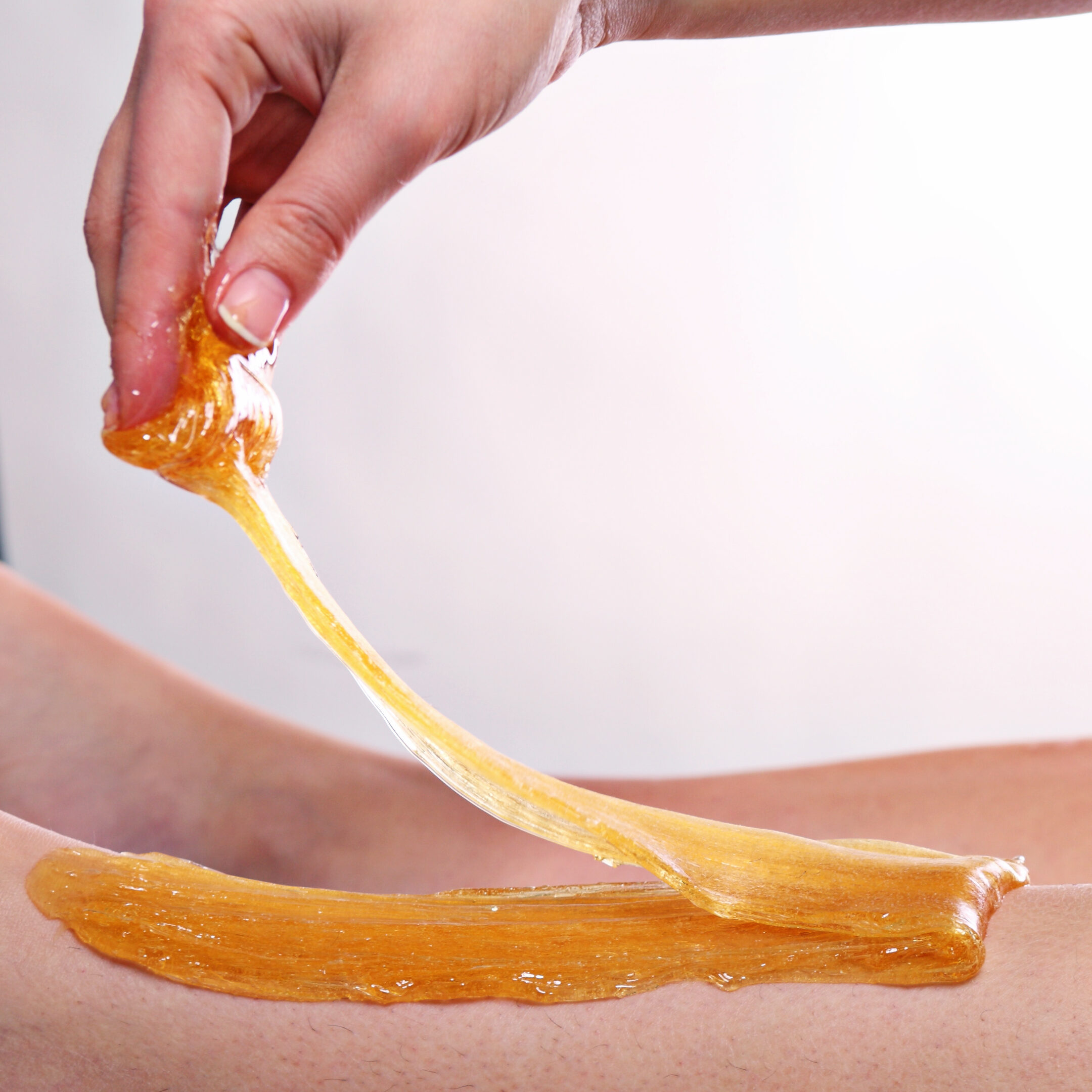 sugaring handtechnique